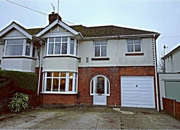 Thumbnail 4 bed semi-detached house for sale in Leigh Road, Eastleigh, Southampton
