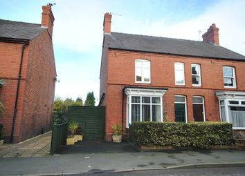 Thumbnail 3 bed semi-detached house for sale in Station Road, Wem, Shrewsbury