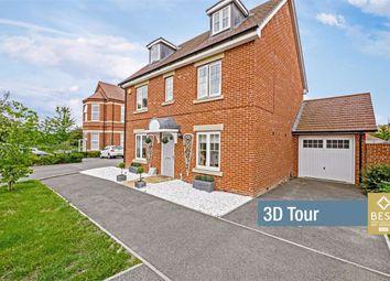 Thumbnail 5 bedroom detached house for sale in Reid Crescent, Hellingly, Hailsham