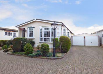 Thumbnail 2 bed mobile/park home for sale in Frensham Avenue, Bognor Regis