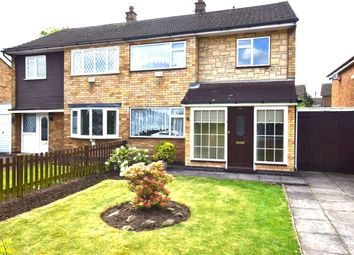 Thumbnail 3 bed semi-detached house for sale in Blenheim Road, Birstall, Leicester