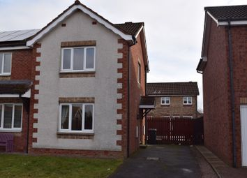 Thumbnail 2 bed semi-detached house for sale in Gates Drive, Heathhall, Dumfries