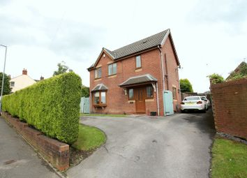 Thumbnail 3 bed detached house for sale in Chapel Lane, Harriseahead, Stoke-On-Trent