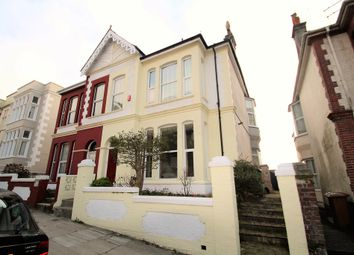 Thumbnail 4 bed semi-detached house for sale in Western College Road, Plymouth