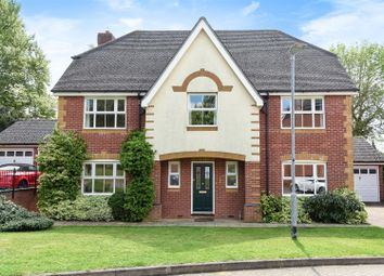 Thumbnail 5 bed detached house for sale in Limekiln Close, Royston