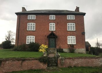 Thumbnail 4 bed detached house to rent in Upper Walton, Craven Arms