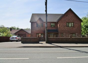 Thumbnail 5 bed detached house for sale in Beaufort Hill, Beaufort, Ebbw Vale, Gwent