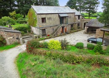 Thumbnail 5 bed barn conversion for sale in Widegates, Looe