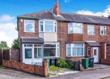 Thumbnail 3 bed end terrace house for sale in Linden Road, Loughborough