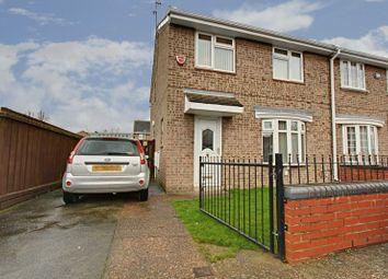 Thumbnail 3 bedroom semi-detached house for sale in Borella Grove, Hull