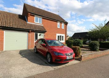 Thumbnail 3 bed link-detached house for sale in Masefield Road, Diss