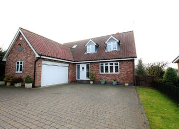 Thumbnail 4 bed detached house for sale in Brough Road, South Cave