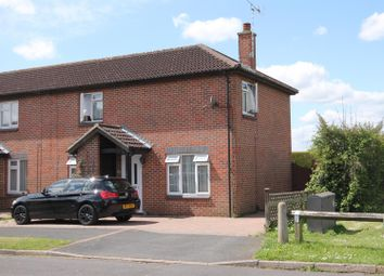 Thumbnail 3 bed semi-detached house for sale in Churchill Crescent, Farnborough