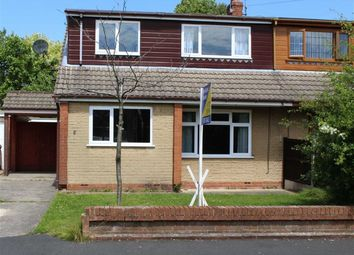 Thumbnail 5 bed semi-detached bungalow to rent in Cedar Close, Grimsargh, Preston