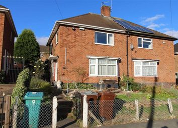 Thumbnail 3 bed semi-detached house for sale in Yatesbury Crescent, Strelley, Nottingham