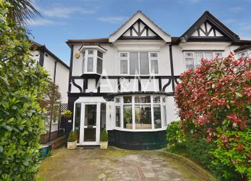 Thumbnail 3 bed semi-detached house for sale in Cleves Walk, Ilford