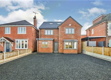 Thumbnail 5 bed detached house for sale in Harehedge Lane, Burton-On-Trent, Staffordshire