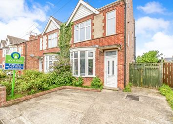 Thumbnail 2 bed semi-detached house for sale in Orme Road, Peterborough