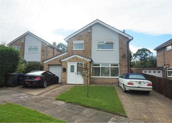Thumbnail 4 bedroom detached house for sale in Huntingdon Close, Newcastle Upon Tyne