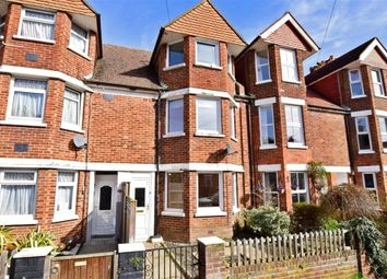 Thumbnail 4 bed terraced house for sale in Morehall Avenue, Cheriton, Folkestone, Kent