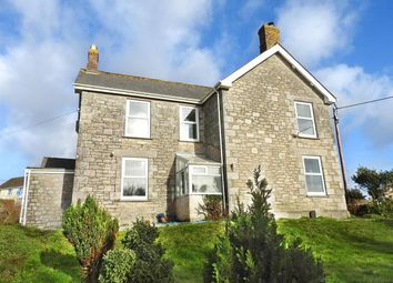 4 bed detached house for sale in Torleven Road, Porthleven, Helston TR13