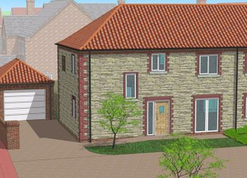 Thumbnail 3 bed semi-detached house for sale in Plot 11, The Miller, Rye Walk Off Hopfield Road, Hibaldstow