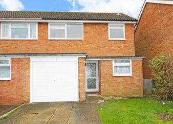 Thumbnail 3 bed semi-detached house to rent in Lowmon Way, Aylesbury