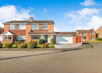 Thumbnail 3 bed semi-detached house for sale in Field End Close, Trentham, Stoke, Staffs
