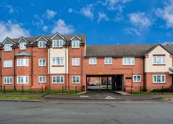 Thumbnail 1 bed flat for sale in Woodcroft Court, Hawbush Road, Bloxwich