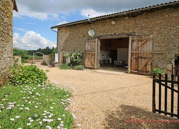 Thumbnail 3 bed barn conversion for sale in Marval, Haute-Vienne, 87440, France