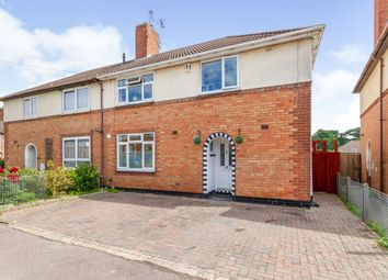 Thumbnail 4 bed semi-detached house for sale in Raven Road, Braunstone, Leicester