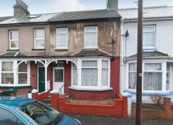 Thumbnail 2 bed terraced house for sale in Glencoe Road, Margate
