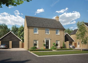 Thumbnail 3 bed detached house for sale in The Robson At Saxon Meadows, Capel St Mary, Suffolk