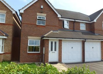 Thumbnail 3 bed property to rent in St. Christopher Drive, Wednesbury