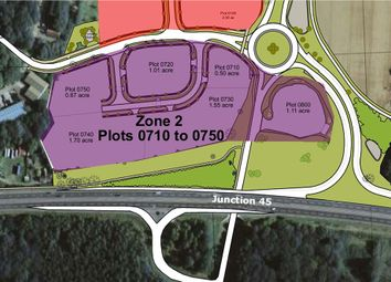 Thumbnail Land for sale in Suffolk Business Park, Zone 2, General Castle Way, Bury St. Edmunds