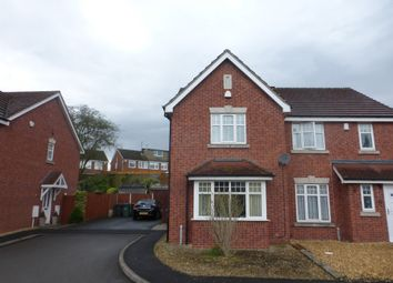 Thumbnail 2 bed semi-detached house for sale in Oxford Way, Tipton