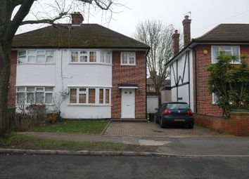Thumbnail 3 bed semi-detached house to rent in Boldmere Road, Pinner