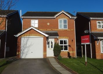 Thumbnail 3 bed detached house for sale in Millcroft Close, Thorne, Doncaster