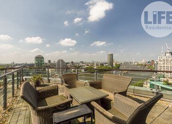 Thumbnail 2 bed flat to rent in Drake House, 14 St. George Wharf, London