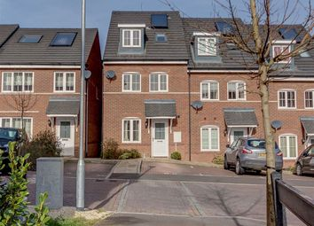 Thumbnail 4 bedroom town house for sale in Stoneyfields, Watton At Stone, Herts