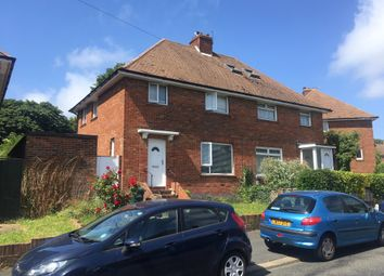 Thumbnail 3 bed semi-detached house to rent in Clarke Avenue, Hove