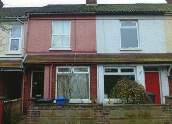 Thumbnail 3 bed terraced house to rent in Highland Road, Norwich