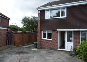 Thumbnail 2 bed semi-detached house to rent in Regency Gardens, Yardley Wood, Birmingham