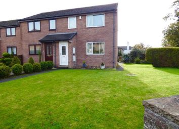Thumbnail 3 bed end terrace house for sale in Harraby Grove Court, Carlisle, Cumbria