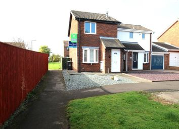 Thumbnail 2 bed terraced house to rent in Carlton Close, Ouston, Chester Le Street
