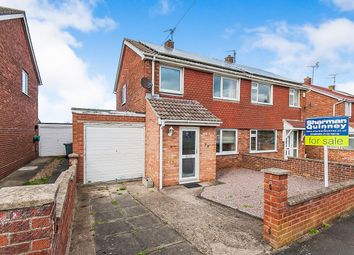 Thumbnail 3 bedroom semi-detached house for sale in Churchill Road, Stamford