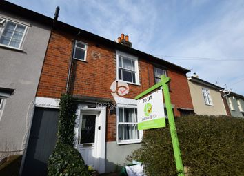 2 bed terraced house to rent in Castle Road, Colchester CO1