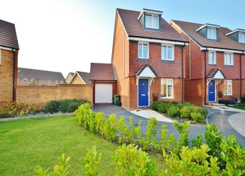 Thumbnail 3 bed detached house to rent in Cornflower Close, Didcot, Oxfordshire