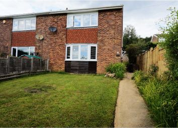 Thumbnail 2 bedroom semi-detached house for sale in Heather Walk, Crowborough