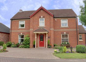 Thumbnail 4 bed detached house for sale in School Croft, Westwoodside, Doncaster